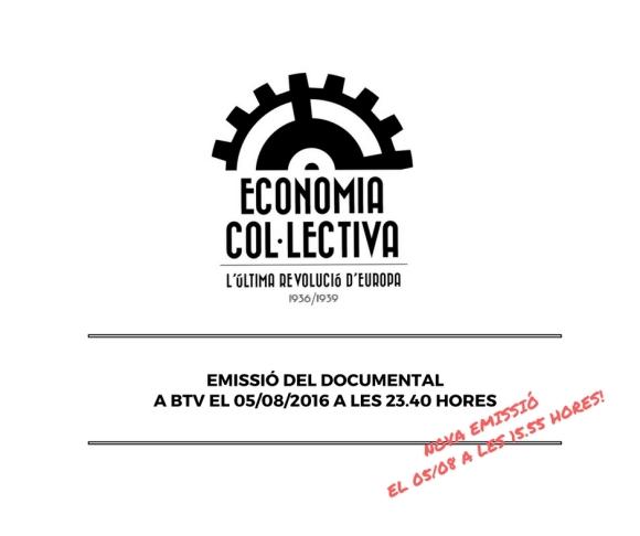 EMISSIÓ DEL DOCUMENTAL EL 05_08_2016 A LES 23.40 HORES A BTV-4
